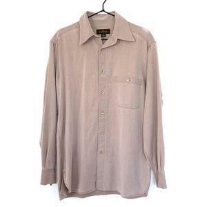 Ermenegildo Zegna Twill Button Down Shirt